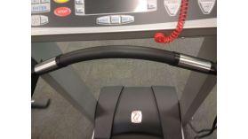 Coated Handle on Treadmill