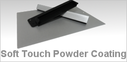 Soft Touch Powder Coating
